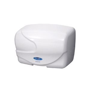 White 220V hand dryer