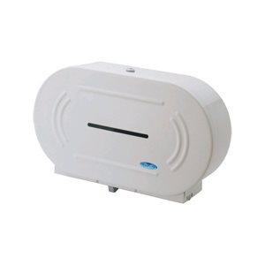 Twin JRT bathroom tissue dispenser (metal)