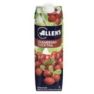 Allen's Cranberry juice 12 x 1L