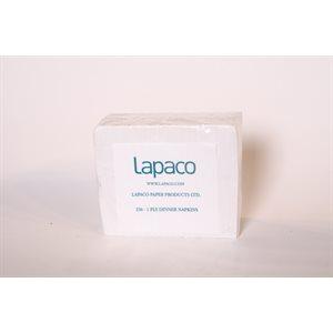 Lapaco dinner napkins 1 / 8 1ply 3000 / cs