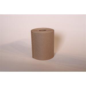 "Hand towel 8""x205' kraft (24 rolls / cs)"