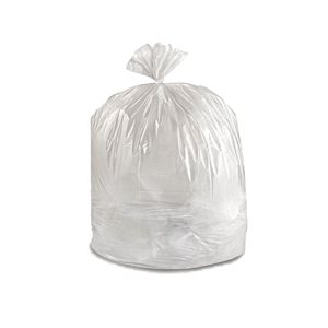 Garbage bags 35x50 *clear* strong 250 / cs
