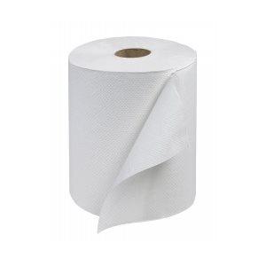 "Hand towel 8""x600' white - (12rlx / cs)"