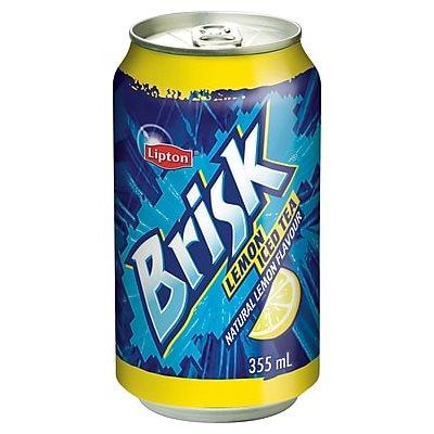 Thé glacé Brisk canettes 24x 355ml